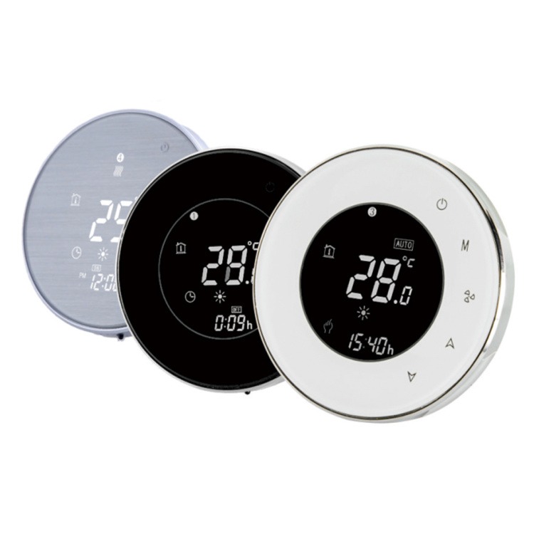 Fan Coil Thermostat Digital Programmable Thermostat Indoor HVAC Wireless Wifi Controller