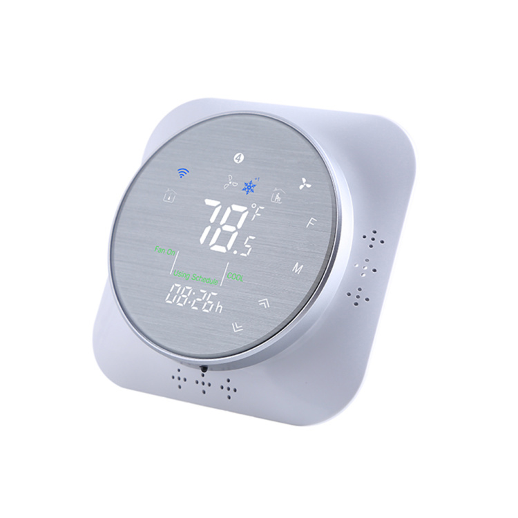 Smart WiFi programmable heating thermostat LCD touch screen digital indoor heating wireless controller