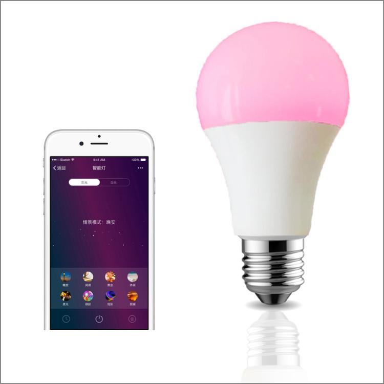 Smart Light Bulbs RGBWW WiFi Works with Alexa Google Home  Dimmable Color Changing LED Lights Bul