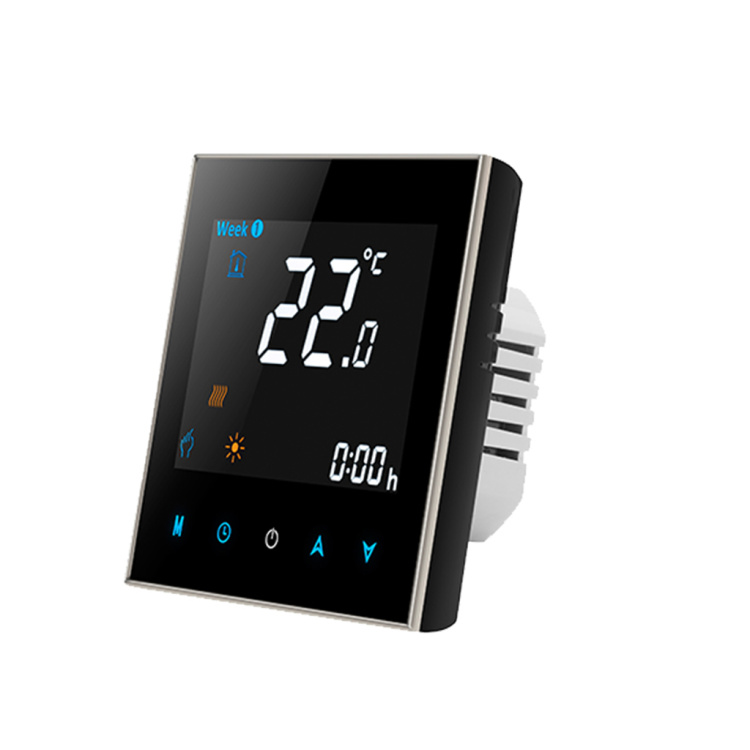 Digital temperature controller compatible with Alexa and Google Home 5A/16A wireless WiFi programmable floor heating the