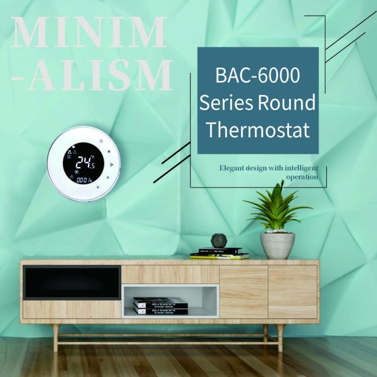 FCU Fan Coil Controller Digital Programmable Indoor Wireless Wifi Thermostat