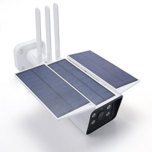 Outdoor Solar Powered Battery Wi-Fi Camera