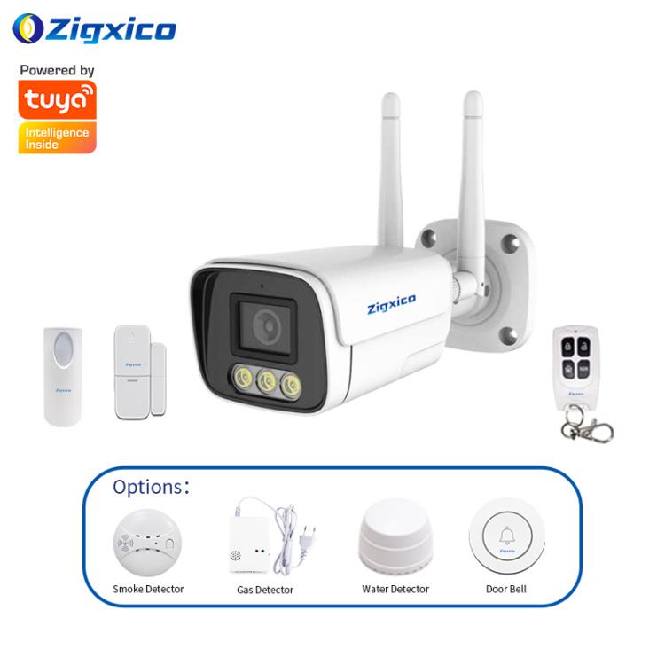 Zigxico Smart Alarm Gateway Camera | Motion Detection | Humanoid Detection