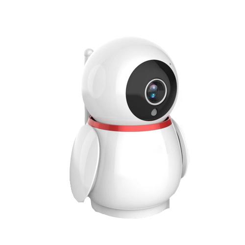 Smart Indoor P/T Camera with Lan Port  Penguin Shape