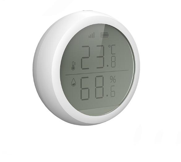 ZigBee LCD Display Temperature & Humidity Sensor