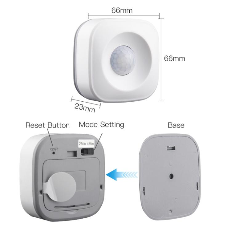 Wi-Fi Smart Motion Sensor