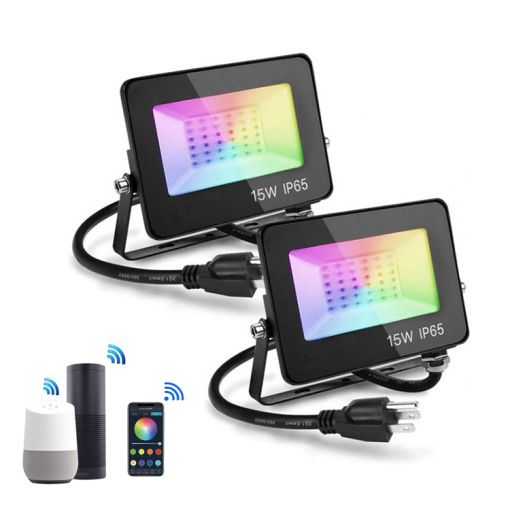 Smart LED Floodlight RGB+Dimmable