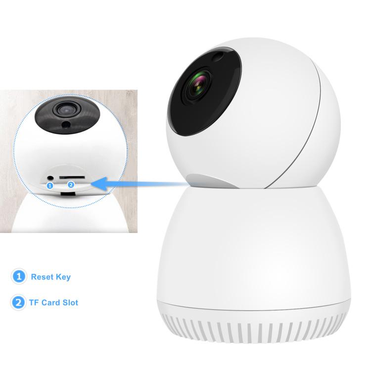 1080P Tuya Wifi IP Camera Pan/Tilt for Home and baby monitoring