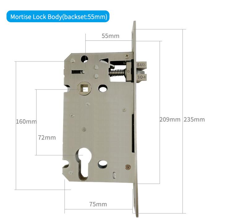 LEIU Fingerprint Smart Lock New Style for Home