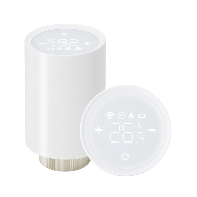 2021 New Arrival Bluetooth Smart Radiator Thermostat TRV with APP Remote Control