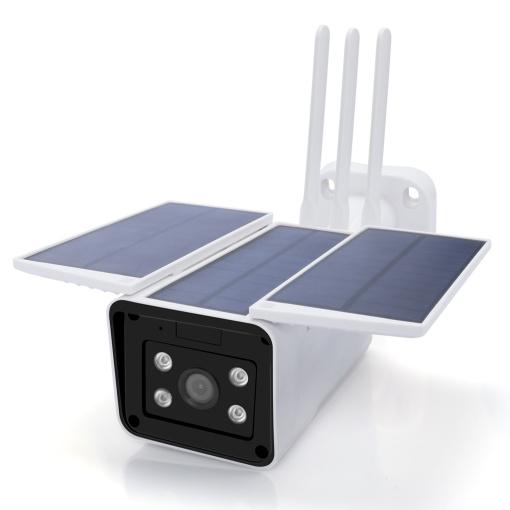 Solar Camera Battery Camera Works With Google Home Alexa Echo Show