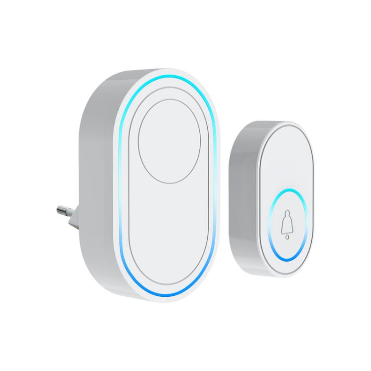 Intelligent Wireless Tuya Wi-Fi Doorbell Home Alarm Doorbell Remote Smart Door Bell Chime EU UK US AU Plug Optional