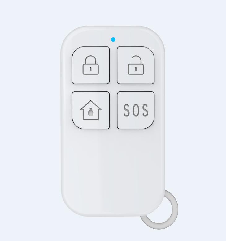 Home Alarm System Wi-Fi GSM Alarm Intercom Remote Control  433MHz Detectors IOS Android Tuya APP Control Touch Keypad