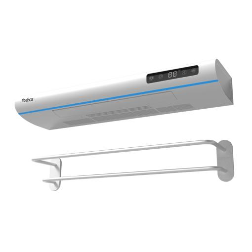 2021 New Design Smart UV Sterilization and Drying 550W Heated Towel Warmer