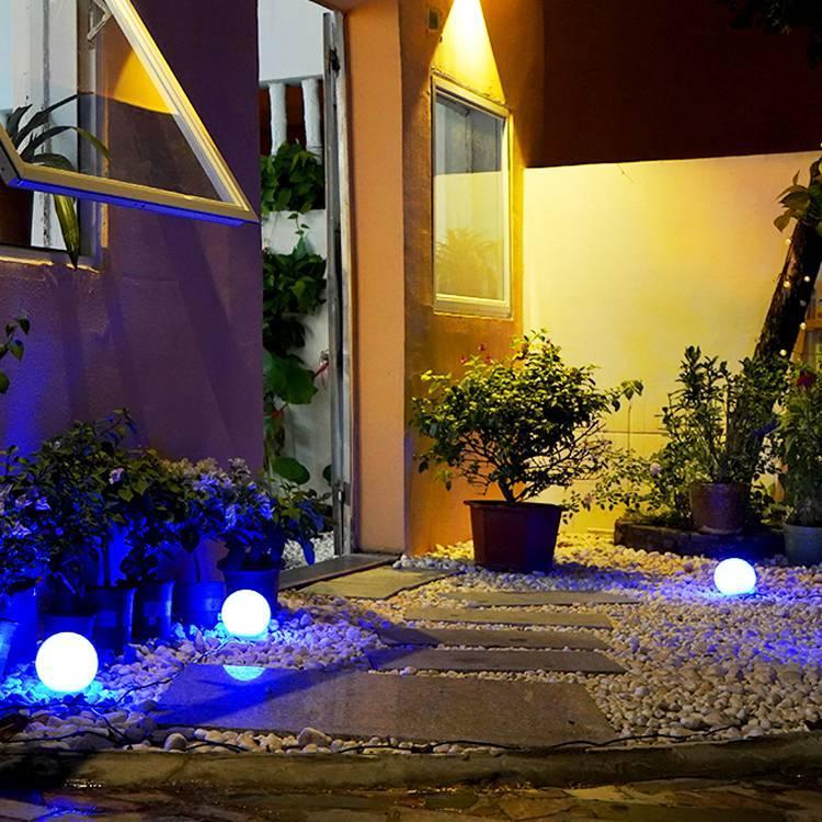 Smart RGB Solar Landscape Lights