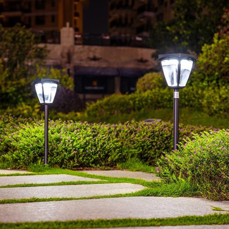 Smart Solar Lawn Light