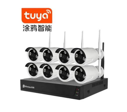 4CH 5MP Wireless NVR Kit 4TB IPC IP66
