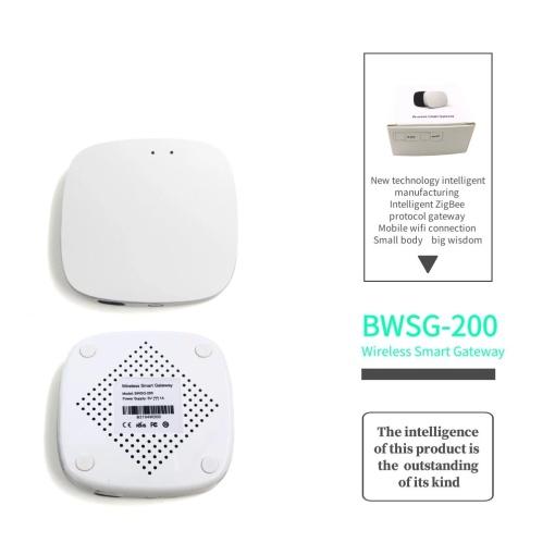 Smart Tuya Zigbee 3.0 Gateway Hub Wireless Remote Control Iot For Linked Zigbee Devices Compatible With Alexa Google Ass