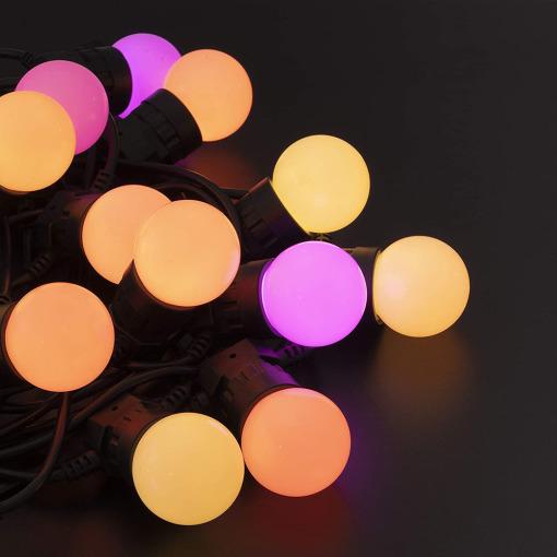 smart outdoor string lights G50 patio festoon light waterproof holiday decor lights
