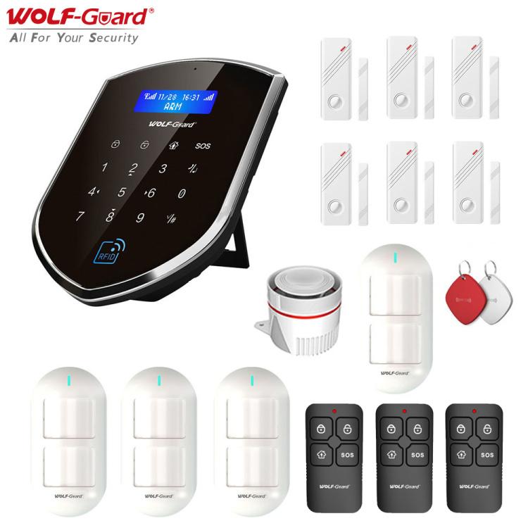 4G 2G Wi-Fi Smart Security Alarm System