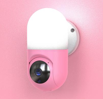 wall light camera, night lamp camera, smart baby camera_copy