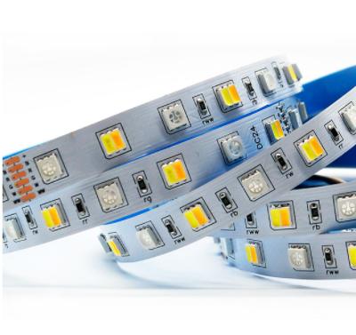 RGBCW LED strip light 12V/24V Music sync 5M/10M available 90LED/meter 5050+2835
