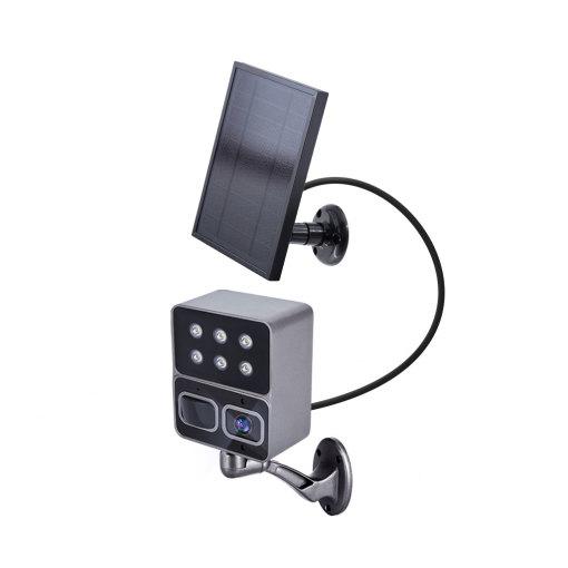 SLW-1 Home Outdoor yard lamp night light no wires Ip66 Wireless 1080p Ip PTZ Security Surveillance Wifi Solar Camera