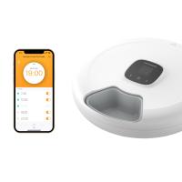 Bluetooth 6-Meal Pet Feeder