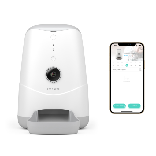 Wi-Fi Smart Pet Feeder With Built-in Camera