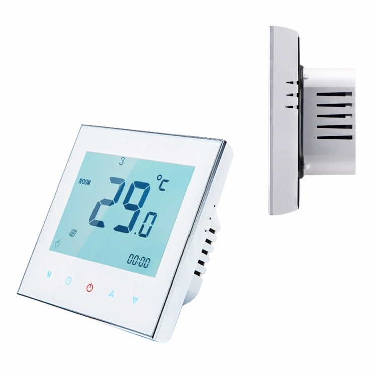 Wifi thermostat wireless smart thermostat LCD touch screen programmable wall-mounted stove floor heating thermostat