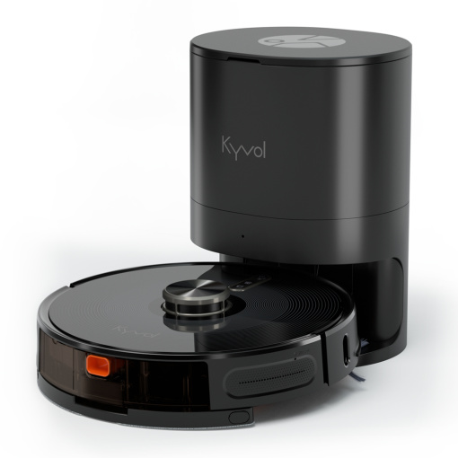 Kyvol Cybovac S31 Robot Vacuum and Mop, Automatic Dirt Disposal, Lidar Navigation, 3000Pa Suction Robotic Vacuum Cleaner