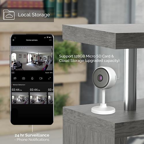 1080p Indoor 2.4G WiFi Smart IP Camera