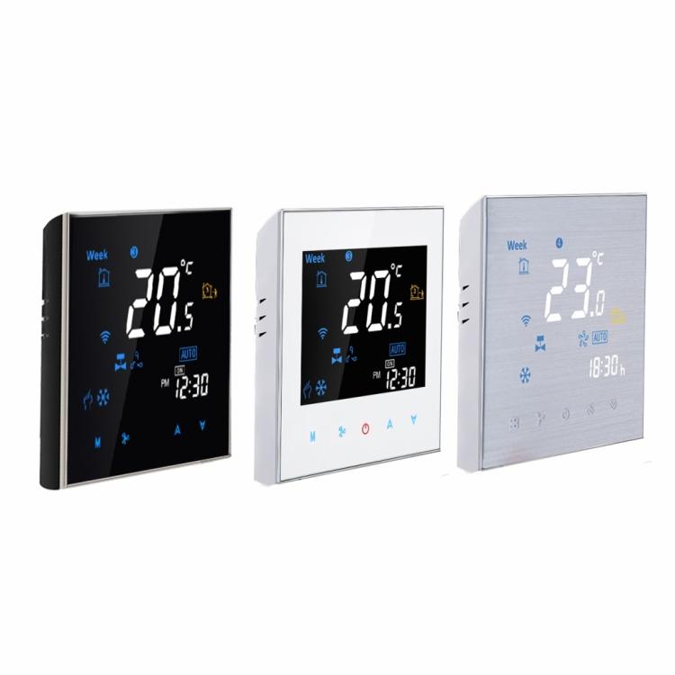 HVAC Digital Fan 3 Speed Controller Smart Home Fan Coil Wireless WiFi Thermostat