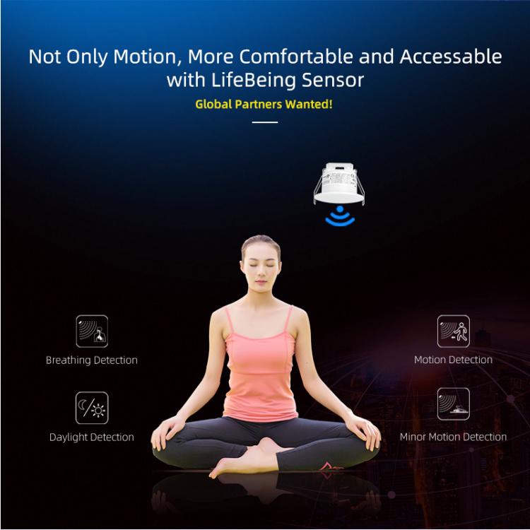 ZigBee Motion Sensor of Breathing Detecting