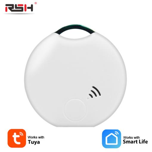 Tuya Smart Tag Device Mini Tag Key Child Finder Pet GPS Tracker Location Bluetooth Tracker Smart Tracker Vehicle Anti-lo