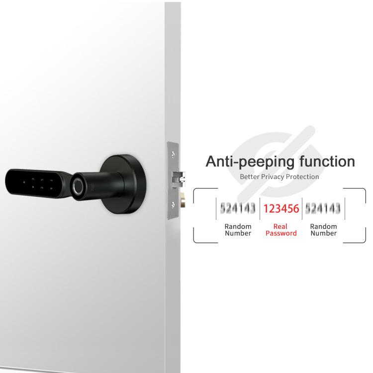 Smart Door Lock , Keyless Entry Home with Your Smartphone, Bluetooth Digital Smart Door Lock