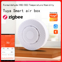 smart air box zigbee Formaldehyde / CO2 / VOC / temperature / humidity five in one function