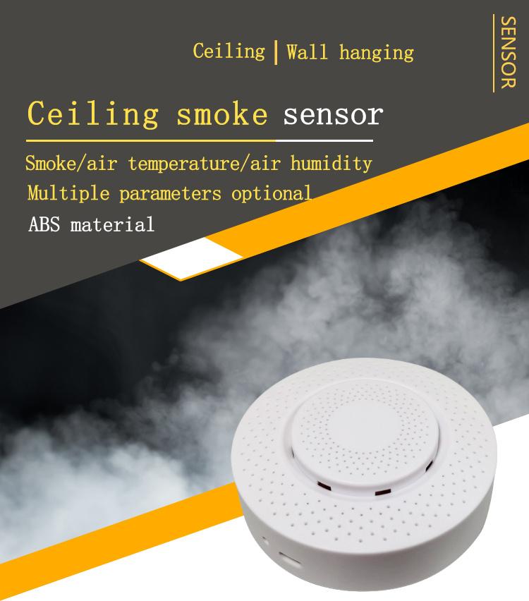 Zigbee/Tuya WIFI smart carbon dioxide detector gas sensor CO2 formaldehyde VOC temperature and humidity APP control