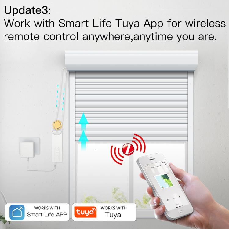Tuya Zigbee Elektrische Motor Vorhang Motor Rollladen Motor Smart Home Control Arbeitet Mit