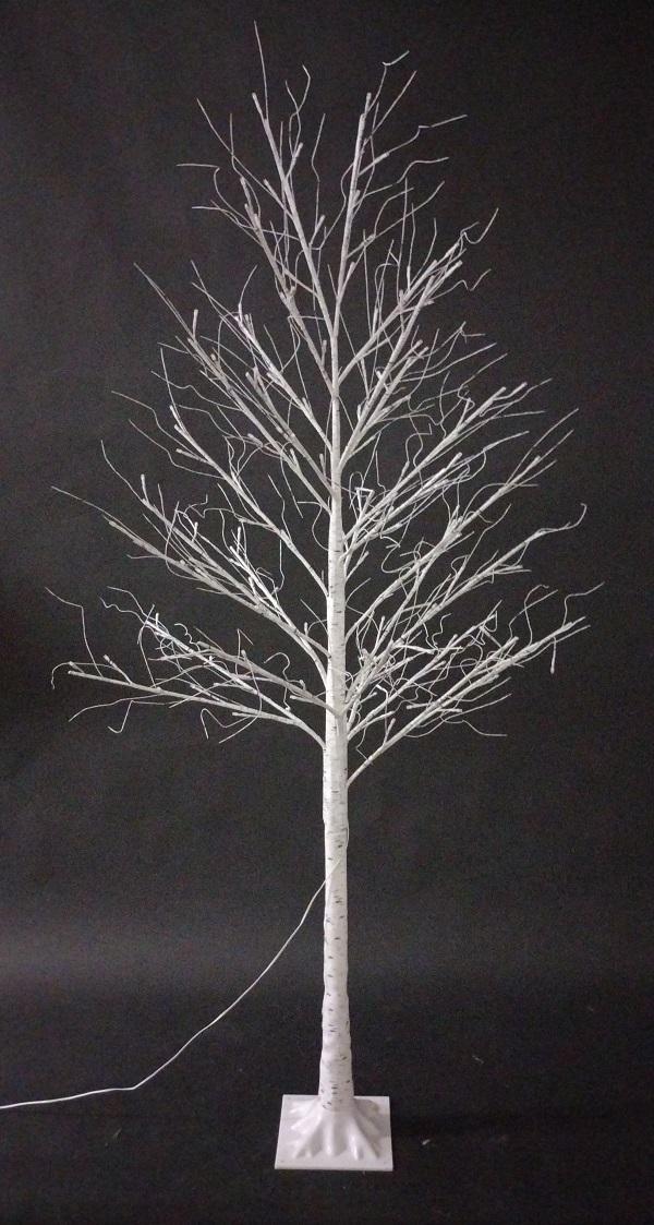 Voice/ App Controlled 180cm White Birch Tree Light