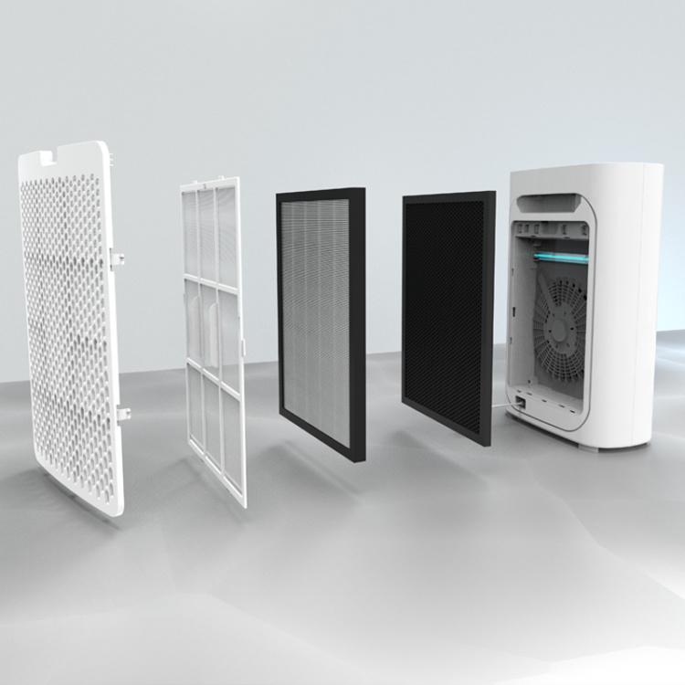 Smart Family series UV light HEPA filter portable Air Purifier