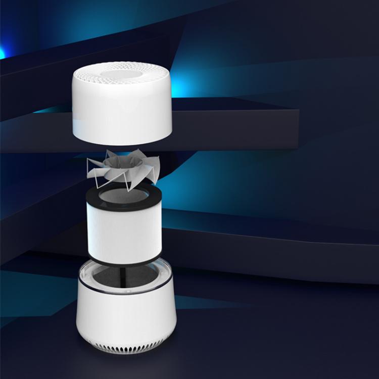 Desktop HEPA filter smart portable negative ion Mini Air Purifier