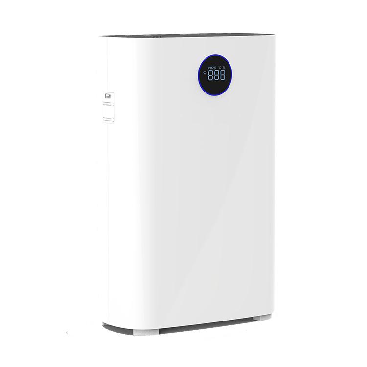 Home using HEPA filter UV lights portable Air Purifier with Dust sensor and Tuya wifi