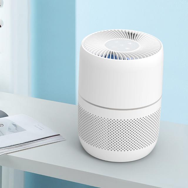 Desktop personal HEPA filter smart portable negative ion Mini Air Purifier