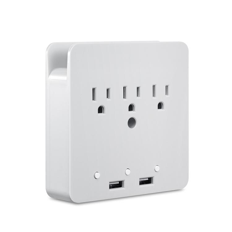 QC 3.0 US America Canada Mexico Smart Wi-Fi Socket Smart Plug Socket  with USB