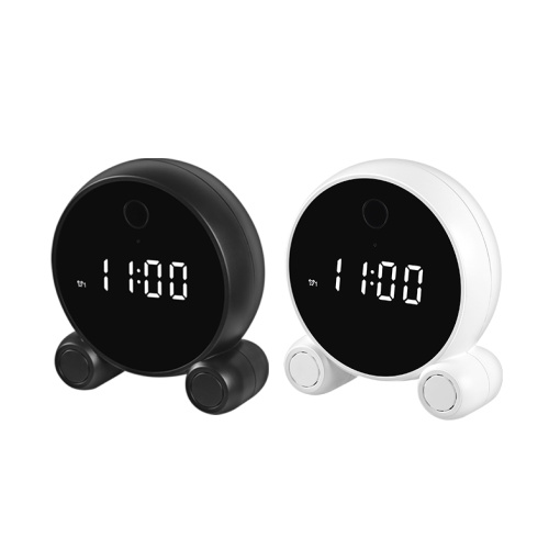 TOPPER WIFI Low-power HD cctv IP wireless  clock camera for home