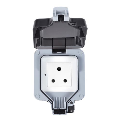 Smart Wireless Wi-Fi Outdoor Socket Switch Waterproof IP66 Socket South Africa India Plug