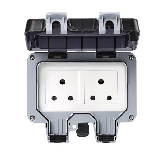 Smart Wi-Fi Bluetooth Zigbee South Africa India  Outdoor Socket IP66 Waterproof Socket Switch