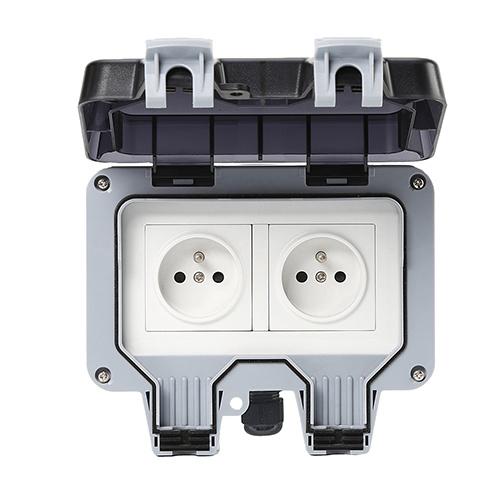 Smart Wi-Fi Bluetooth Zigbee French FR  Outdoor Socket IP66 Waterproof Socket Switch