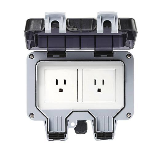 Smart Wi-Fi Bluetooth Zigbee US America Outdoor Socket IP66 Waterproof Socket Switch